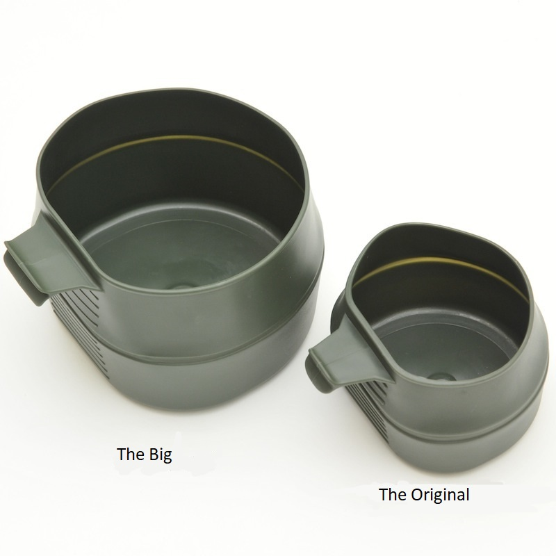 Faltbecher Fold-A-Cup khaki