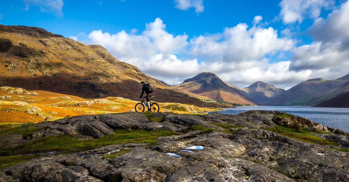 Epic Technical Mountain Bike Trail